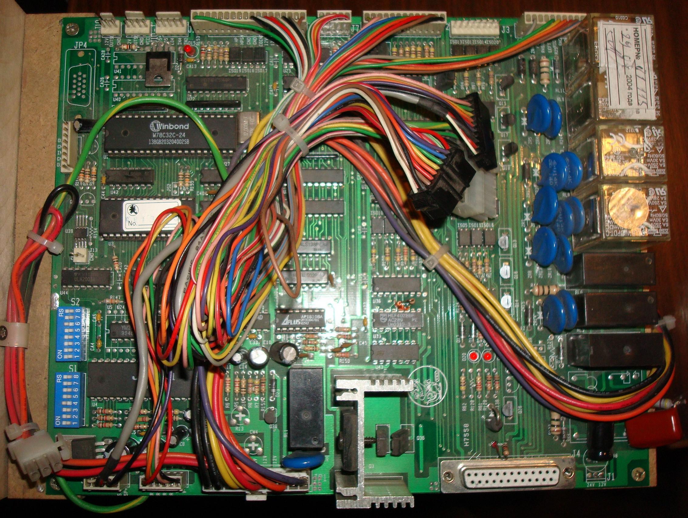 Хватайка-мини - игровая плата W9803D4