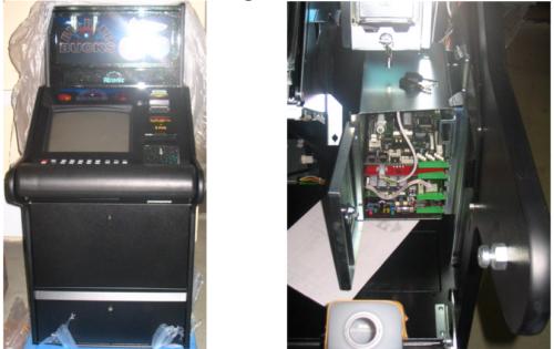 Зал игровых автоматов интерьер