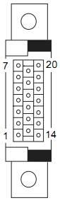 jcm-uba connector